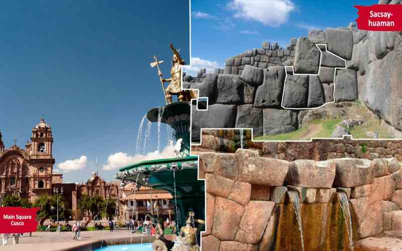 Cusco - City tour - Qoricancha - Sacsayhuaman