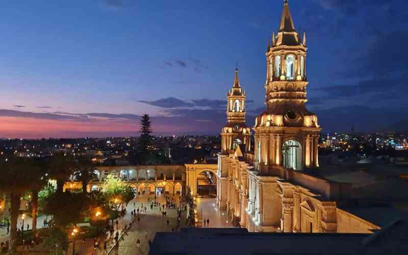 DAY 3: LIMA – AREQUIPA RELAX
