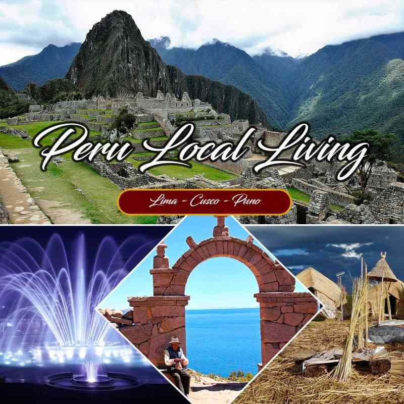 Live this amazing local living tour visiting: Historical Center of Lima, Center of Cusco, Peasant Community of Willoc Patacancha, Machupicchu and Lake Titicaca / Uros.