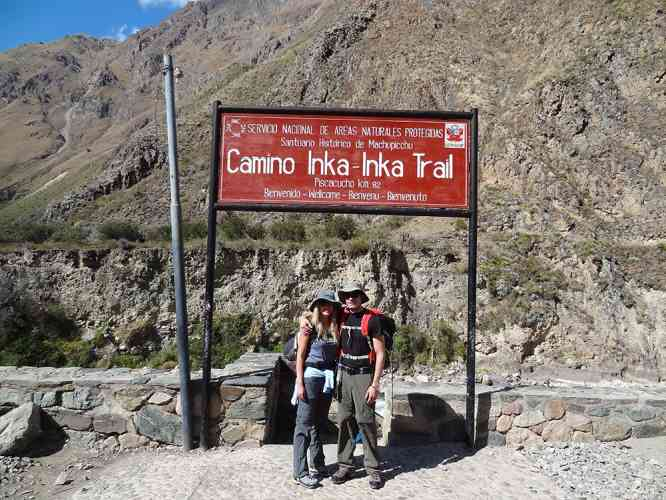 "TRANSFER BY ITEP VAN FROM CUSCO TO KM 82 ""INKA TRAIL ENTRANCE"""