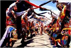Fiesta Virgen del Carmen de Paucartambo
